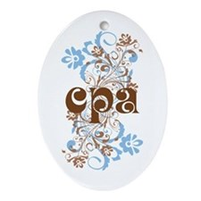 CPA Gift Ornament (Oval)