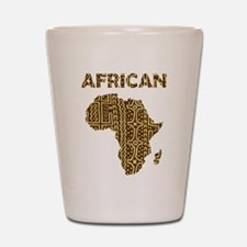 African Shot Glass