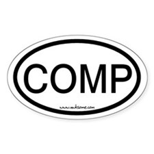 """COMP"" Decal"