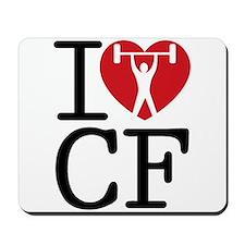 I Love CF Mousepad