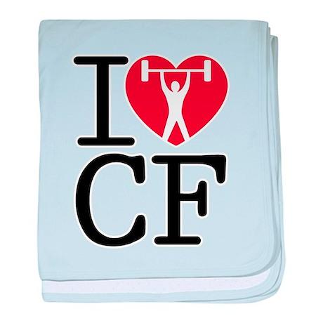 I Love CF baby blanket