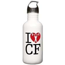 I Love CF Water Bottle