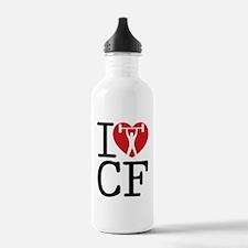 I Love CF Water Bottle