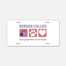 Border Collie Lover Aluminum License Plate