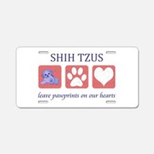 Shih Tzu Lover Aluminum License Plate