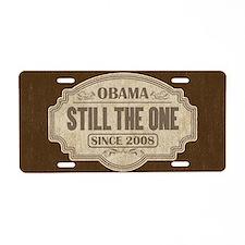 Obama Since 2008 Aluminum License Plate