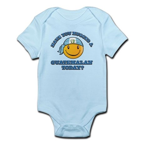 Have you hugged a Guatemalan today? Infant Bodysui