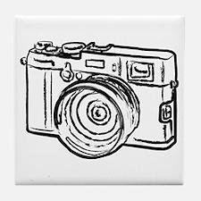 Cute Photography Tile Coaster