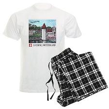 Lucerne Switzerland Pajamas