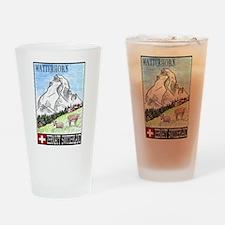 Matterhorn Pint Glass