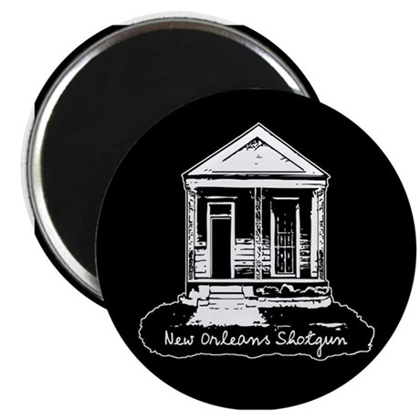 "New Orleans Shotgun 2.25"" Magnet (100 pack)"