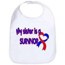 Sister CHD Survivor Shop Bib