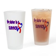 Sister CHD Survivor Shop Pint Glass