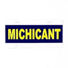Michicant Anti Michigan Footb Aluminum License Pla