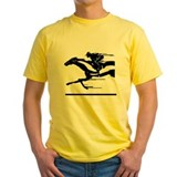 Belmont stakes Mens Yellow T-shirts