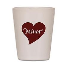 Love for Minot Shot Glass