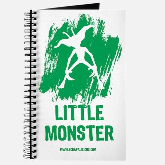 Little Monster - Green Journal