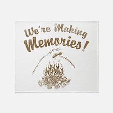 We're Making Memories! Throw Blanket