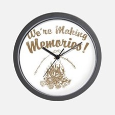 We're Making Memories! Wall Clock