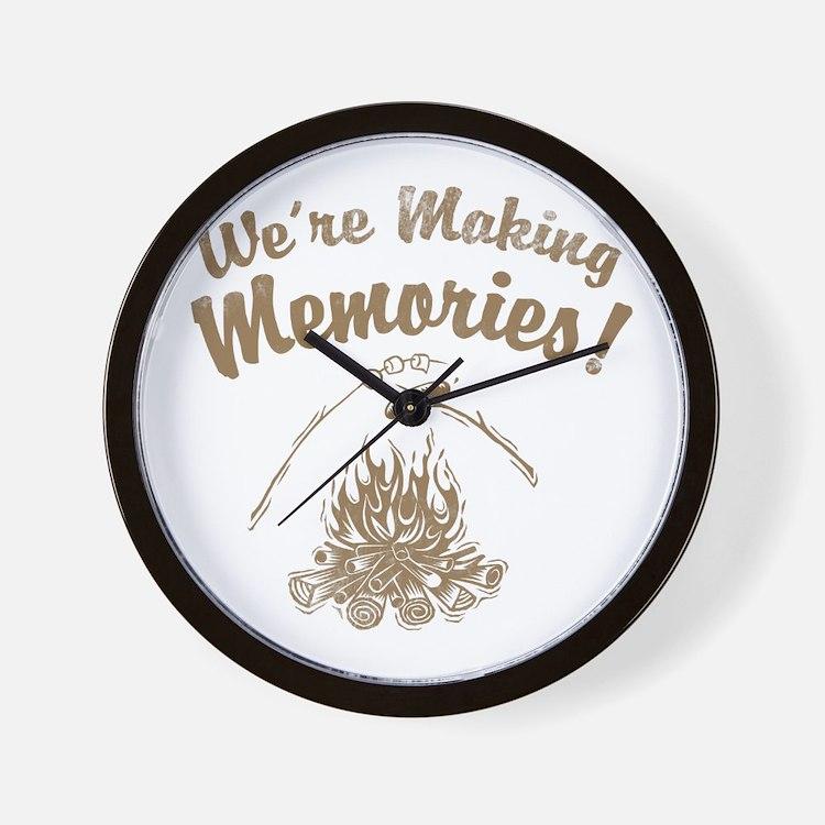 We're Making Memories! Wall Clock