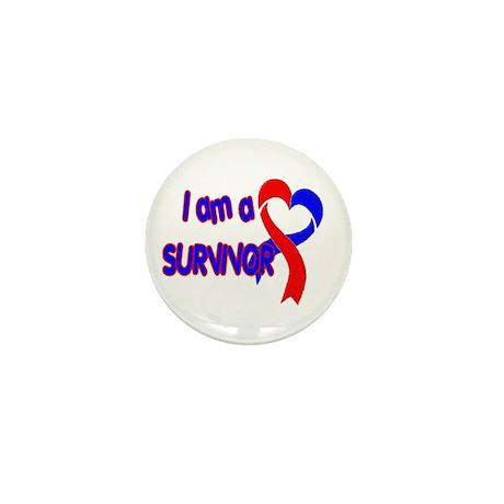 I AM A CHD SURVIVOR Mini Button (100 pack)