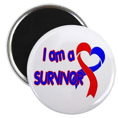 I AM A CHD SURVIVOR Magnet