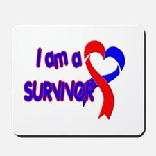 I AM A CHD SURVIVOR Mousepad