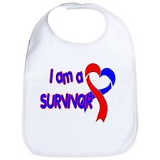 I AM A CHD SURVIVOR Bib