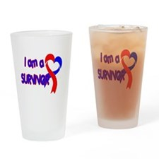 I AM A CHD SURVIVOR Pint Glass