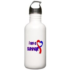 I AM A CHD SURVIVOR Water Bottle