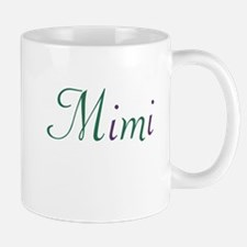 Mimi Green & Purple Mug