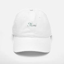 Mimi Green & Purple Baseball Baseball Cap