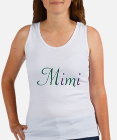 Mimi Green & Purple Women's Tank Top