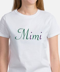 Mimi Green & Purple Tee