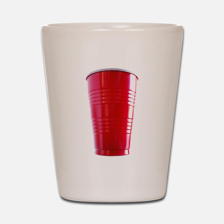 Red Cup Shot Glass