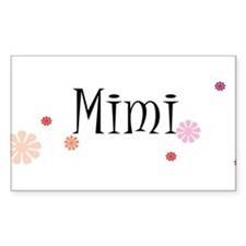 Mimi With Flowers Decal