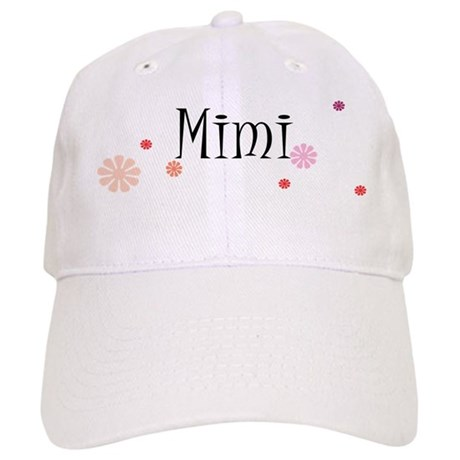 Mimi With Flowers Cap