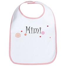 Mimi With Flowers Bib