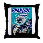 Phantom Lady Negative Throw Pillow