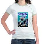 Phantom Lady Negative Jr. Ringer T-Shirt
