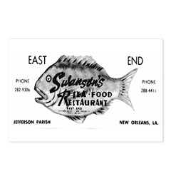 Swanson's Seafood Postcards (Package of 8)