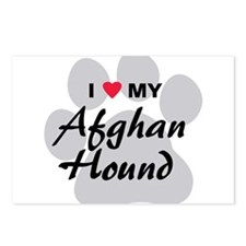 Afghan Hound Postcards (Package of 8)