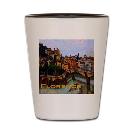 Wacky Travel - Florence Italy Shot Glass