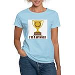I'm A Winner Women's Light T-Shirt