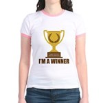 I'm A Winner Jr. Ringer T-Shirt