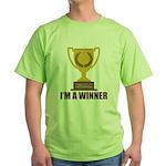 I'm A Winner Green T-Shirt