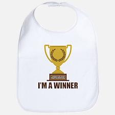I'm A Winner Bib