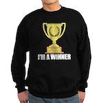 I'm A Winner Sweatshirt (dark)