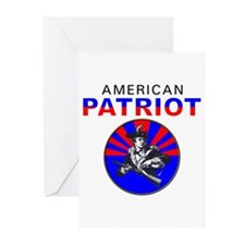 American Patriot Cameo Greeting Cards (Package of