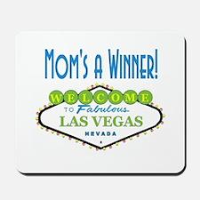 Mom's A Winner Vegas Mousepad